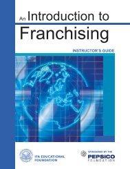 Intro to Franchising IG - International Franchise Association