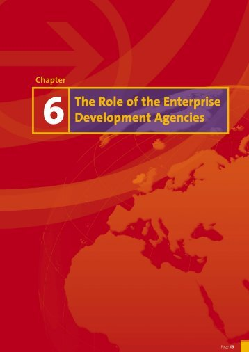 Chapter 6: The Role of the Enterprise Development Agencies