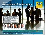 Management & Leiderschap - Focus Conferences