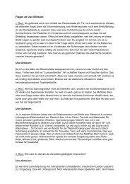 Fragen an Uwe Schwarz: 1. Red.: Du gehörtest ... - Galerie Laterne