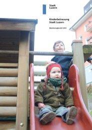 Kinderbetreuung Stadt Luzern Stadt Luzern - sitesystem