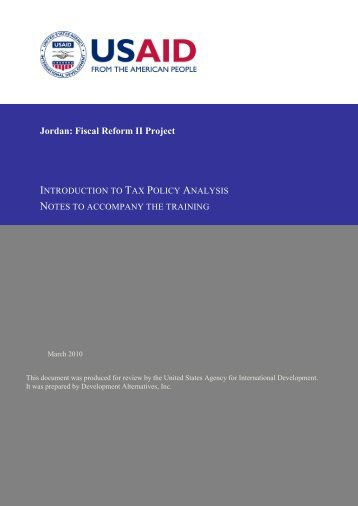 Macroeconomic Planning and the Fiscal Sector - Frp2.org