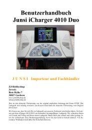 Benutzerhandbuch Junsi iCharger 4010 Duo