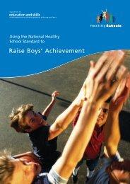 Raise Boys' Achievement - Gloucestershire Boys & Young Men ...
