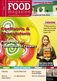 Confiserie & Chocolaterie - FOOD MAGAZINE