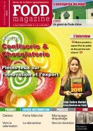 Confiserie & Chocolaterie - FOOD MAGAZINE