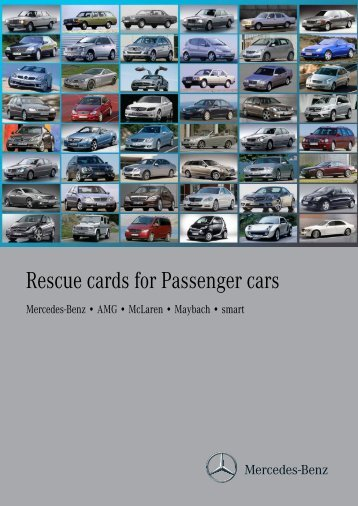 Rescue cards for Passenger cars - Mercedes-Benz Niederlassung ...