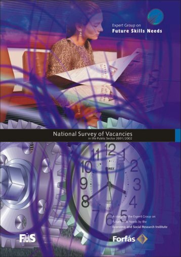 National Survey of Vacancies in the Public Sector - Forfás