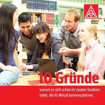 Informationen für Dual-Studierende