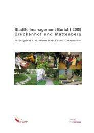 Bericht Stadtteilmanagement 2009 - Frauentreff Brückenhof