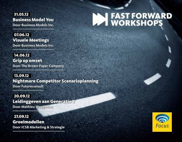 FAST FORWARD WORKSHOPS - Focus Conferences