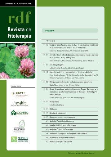 Revista de Fitoterapia - Fitoterapia.net