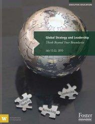 GSL Brochure 2010 new.indd - University of Washington Foster ...