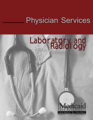 Laboratory and Radiology - Wisconsin.gov