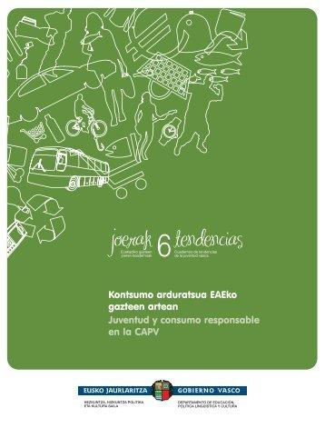 Kontsumo arduratsua - Gazteaukera - Euskadi.net