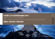 Program - Fjord Norway