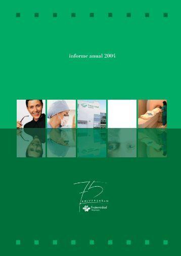 informe anual 2004 - Fraternidad Muprespa