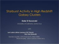 Obscured Starburst Activity in High Redshift Galaxy Clusters and ...