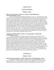 ALL-CD reviews - Florentine Opera