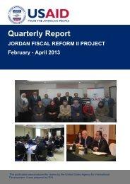 Fourteenth Quarterly Report, February - April 2013 - Frp2.org