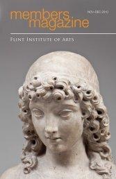 members magazine - the Flint Institute of Arts