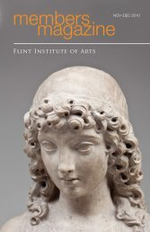 members magazine - the Flint Institute of Arts