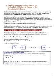 9 Qualitätsmanagement: Anwendung von ... - FB 4 Allgemein