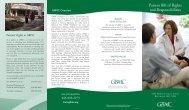 Audiology Brochure 7/03 - Greater Baltimore Medical Center