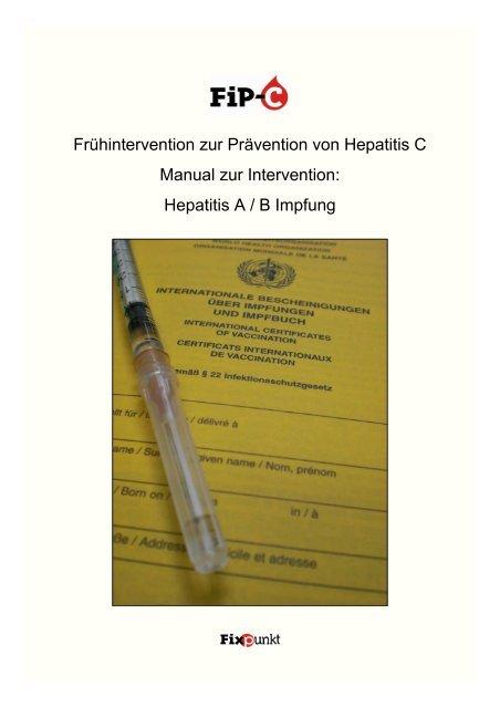 hepatitis a impfung auffrischung