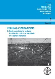Fishing operations. 2. Best practices to reduce incidental ... - FAO
