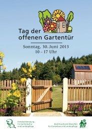 Oberpfalz - Bayerischer Landesverband für Gartenbau und ...