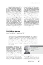 Wahrheit und Legende - Neue Gesellschaft Frankfurter Hefte