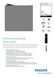 32PFL7803D/10 Philips Flat TV con Pixel Plus 3 HD