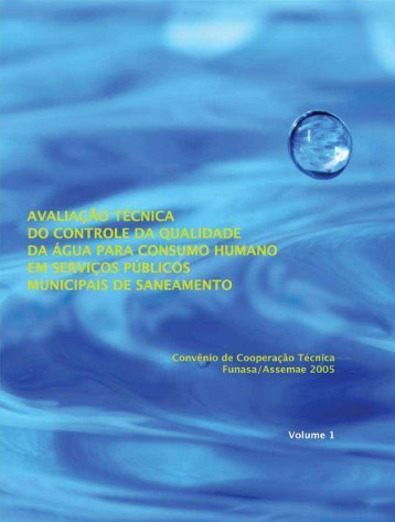 Capa Volume 1 - Funasa