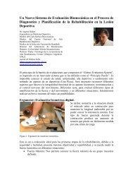 Un Nuevo Sistema de Evaluación Biomecánica ... - Fuerza y Potencia