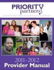 Provider Manual - Greater Baltimore Medical Center