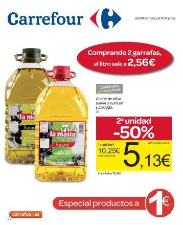 2a unidad -50% - Carrefour