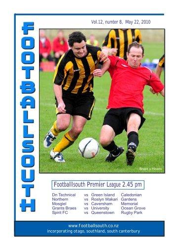 22nd May 2010 - Football South