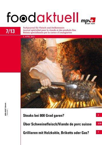 Über Schweinefleisch/Viande de porc suisse ... - Foodaktuell.ch