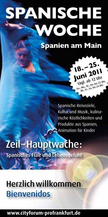 Spanische Woche Spanien am Main - Cityforum Profrankfurt