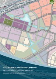 Development Contributions Plan - Growth Areas Authority
