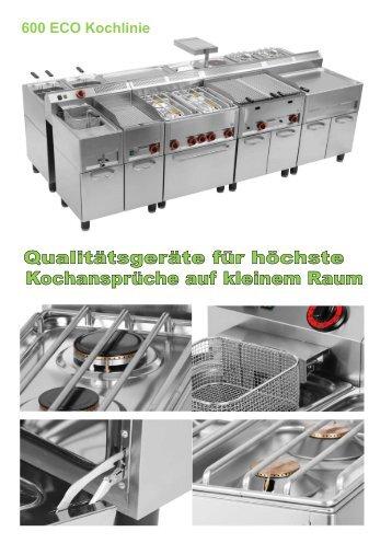 600 ECO Kochlinie - Gastro-Ausverkauf.de