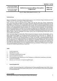 TRBS 2152 - Gewerbeaufsicht - Baden-Württemberg