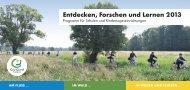Entdecken, Forschen und Lernen 2013 - Frankfurt Green City