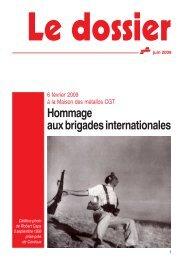 Hommage aux brigades internationales - Féderation - La cgt