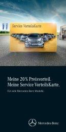 Download Service Vorteilskarte - Mercedes-Benz Niederlassung ...