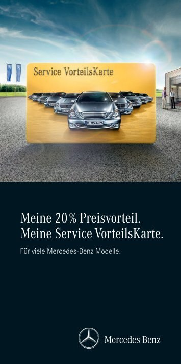 Download Service Vorteilskarte - Mercedes-Benz Niederlassung ...
