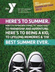 2013 brochure - YMCA of Greater Fort Wayne