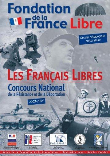 Télécharger la brochure du Concours 2003-2004 - Fondation ...