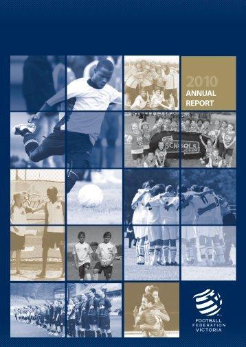 ANNUAL REPORT - Football Federation Victoria